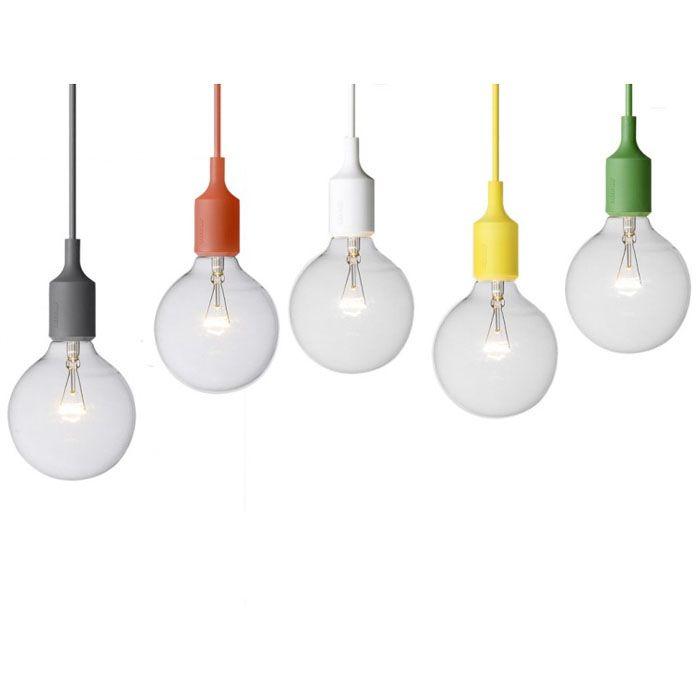 Muuto E27 Pendant Light By Mattias Stahlbom Luxury Lighting Modern Lighting Interior Design Basics