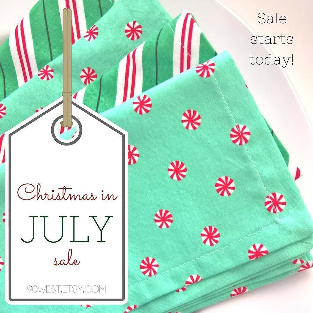 Christmas In July Sale Starts NOW! Use Coupon Code
