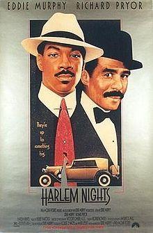 rolled original movie poster 1989 Harlem Nights single-sided