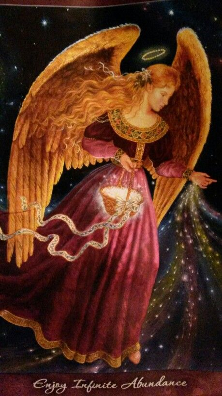 Doreen Virtue -angel of abundance - be a channel for Spirit, listen & act & all you need will be provided.