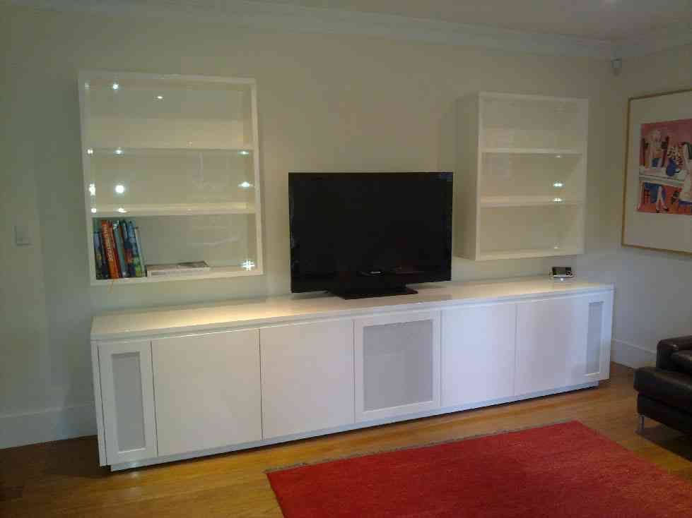 Awesome Home Theater Cabinet Design
