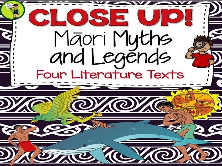 Māori Myths and Legends - Reading Comprehension Texts with Higher Order Thinking