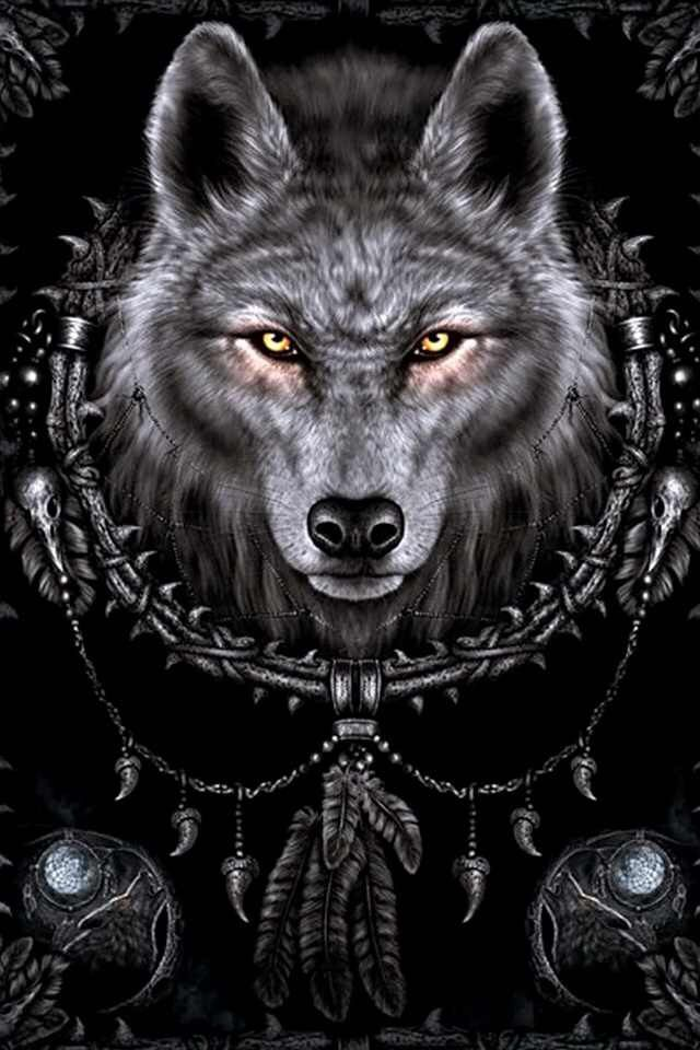 Wolf Dream Catcher Exotic888imports Com Collector And Seller Of