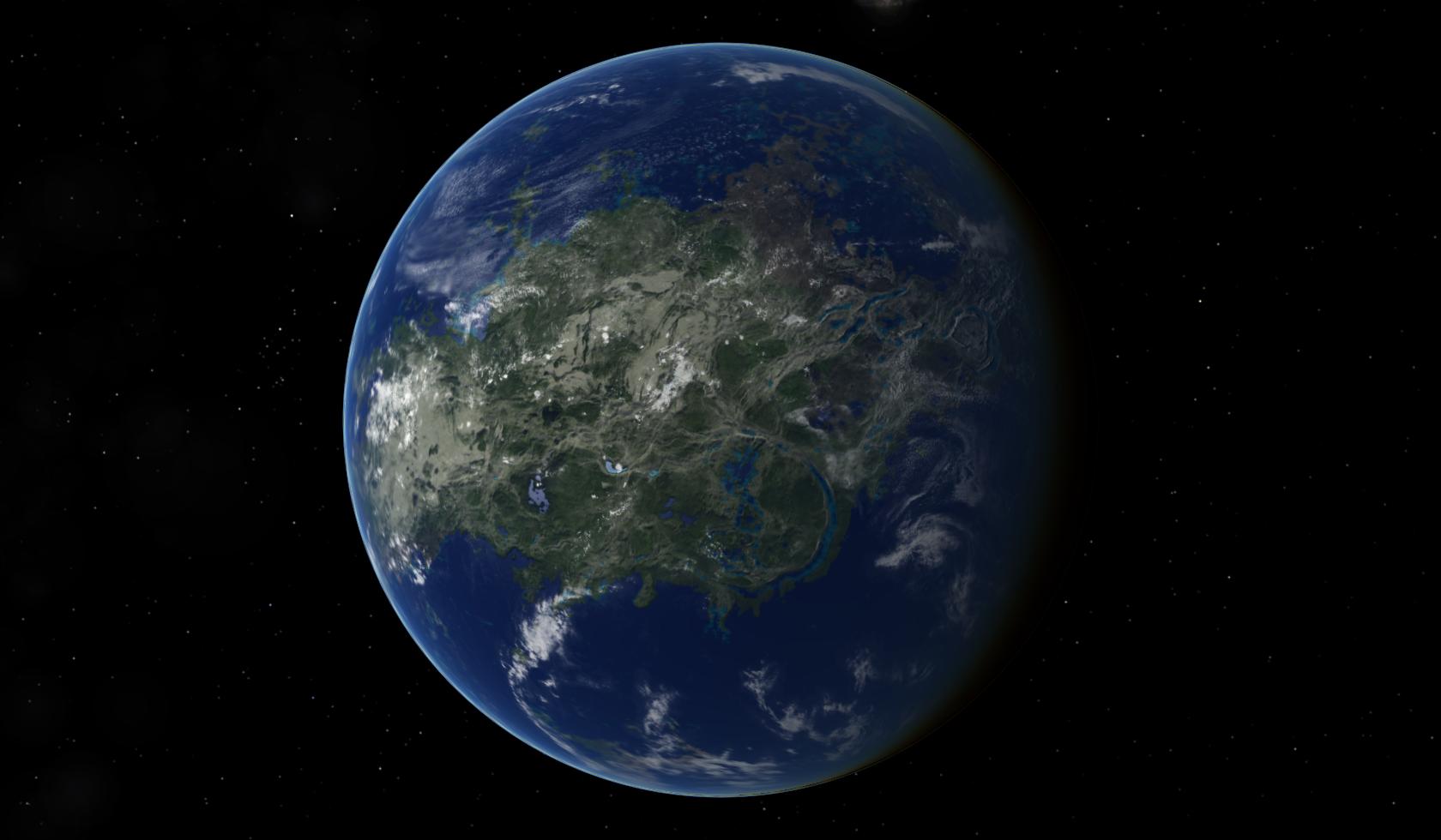Terraformed Venus by 77Mynameislol77.deviantart.com on ... on terraformed ganymede, destiny mars map, terraformed europa moon,