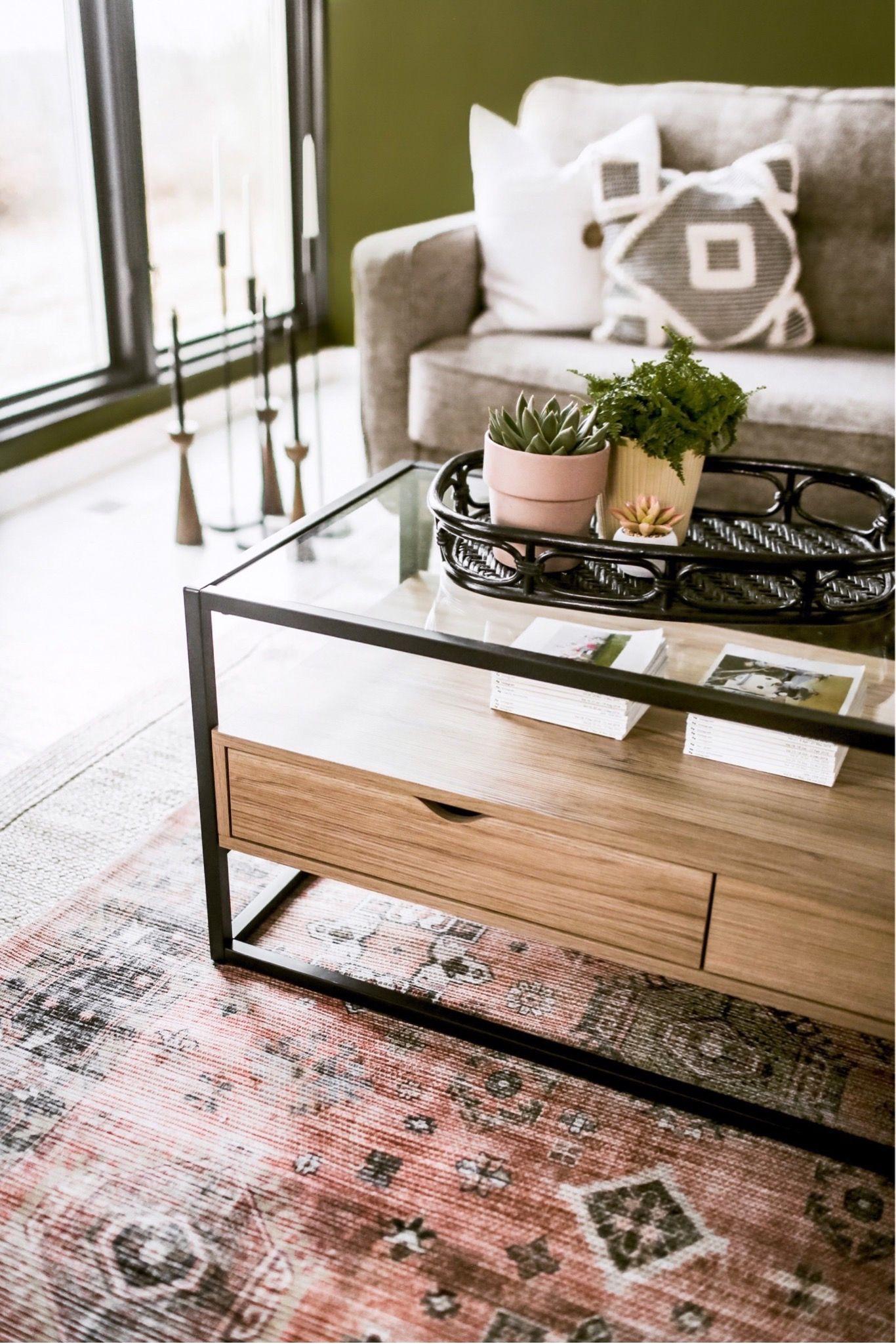 Boho Scandinavian Style Living Room Layered Rugs Living Room World Market Rug Guest Bedroom Decor [ 2049 x 1366 Pixel ]