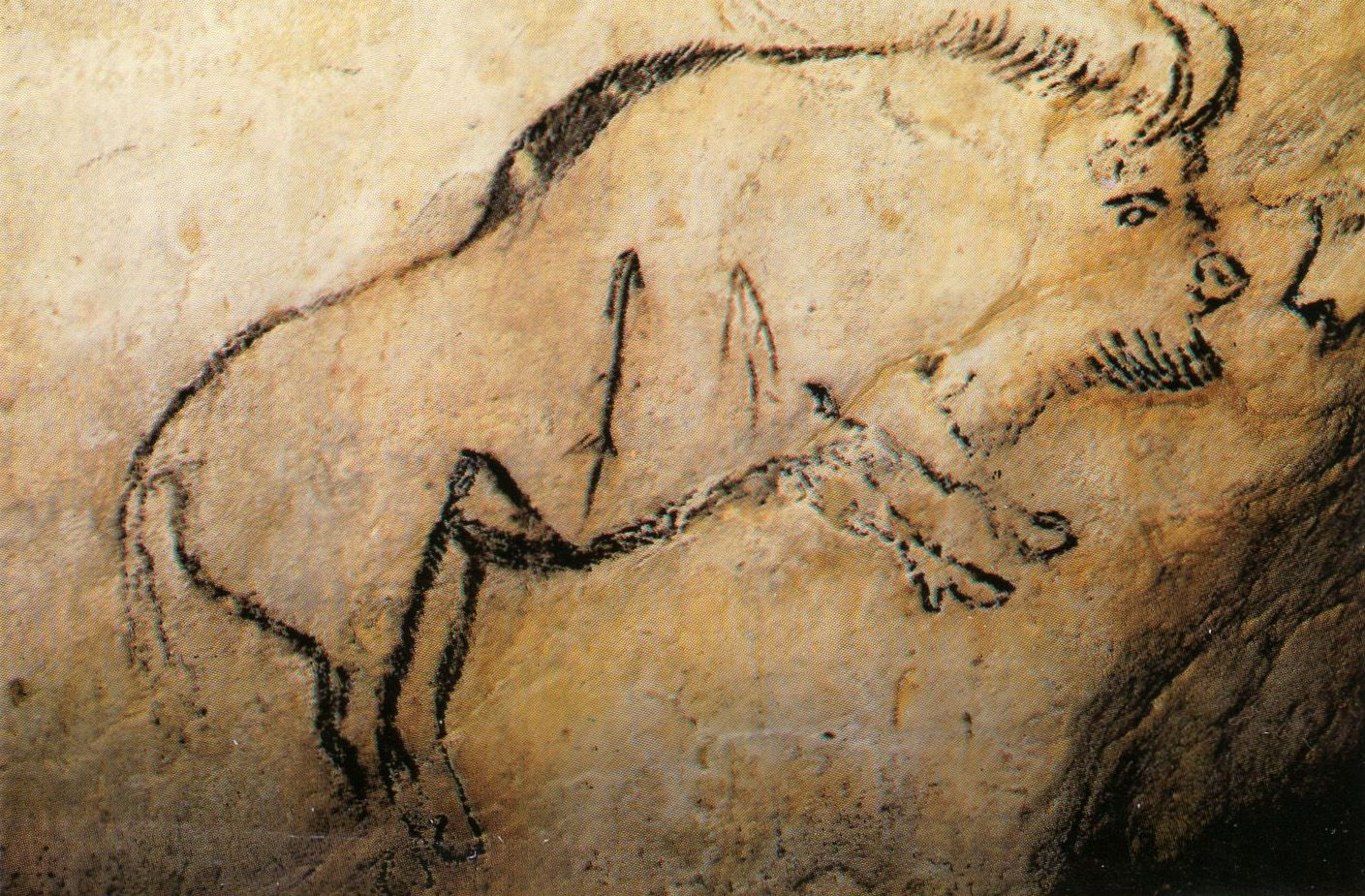 The recognition that the now famous cave paintings in