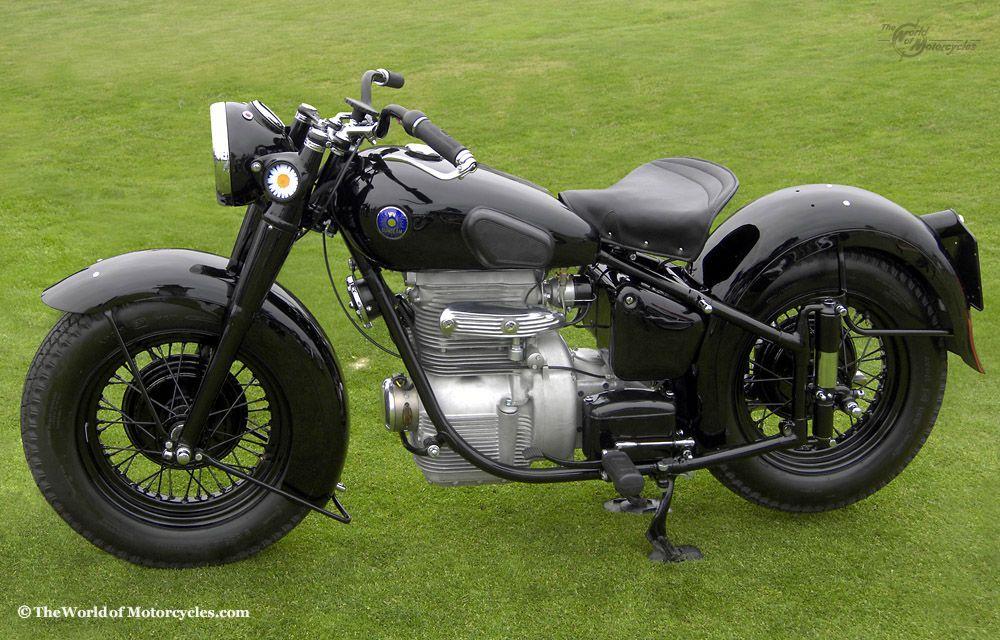 1948 Sunbeam S7 500 Motorcycle