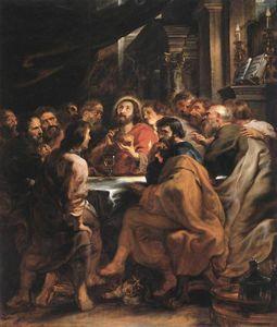 Última Cena - (Peter Paul Rubens)