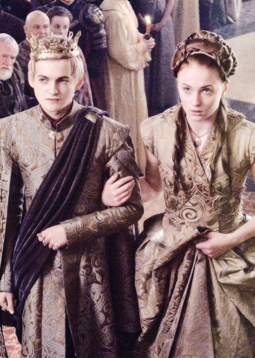 joffrey baratheon and sansa stark by waldafrey a game of