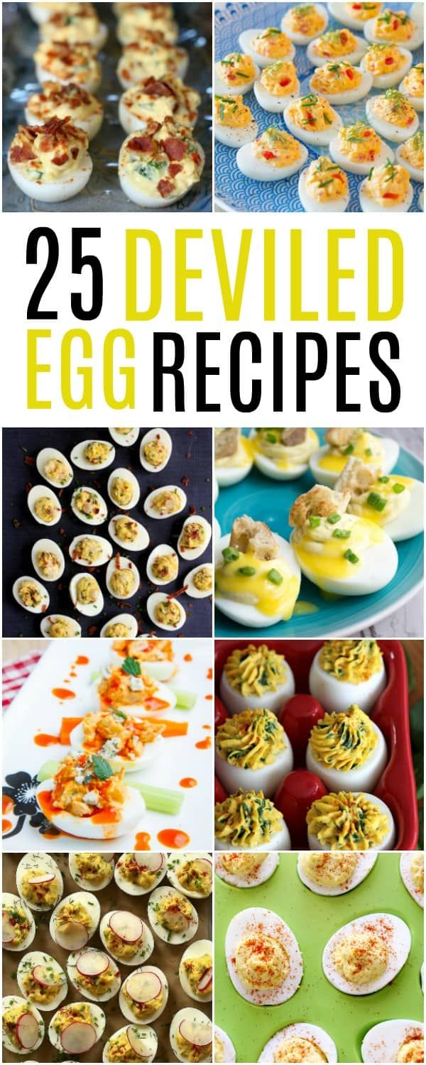 Its just not or with finding their way to the table Weve got25 Deviled Egg Recipesto please every palette in the bunch These little bites of eggy happin...