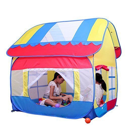 Tent Kids Indoor Outdoor Waterproof Giant Pop Up Playhouse Play