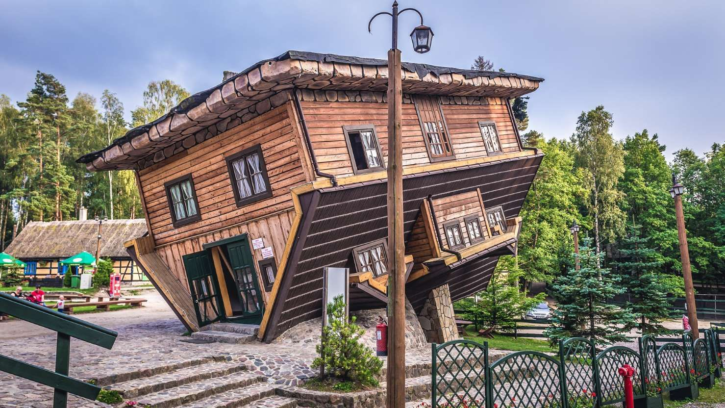 These Crazy UpsideDown Houses Will Make Your Head Turn