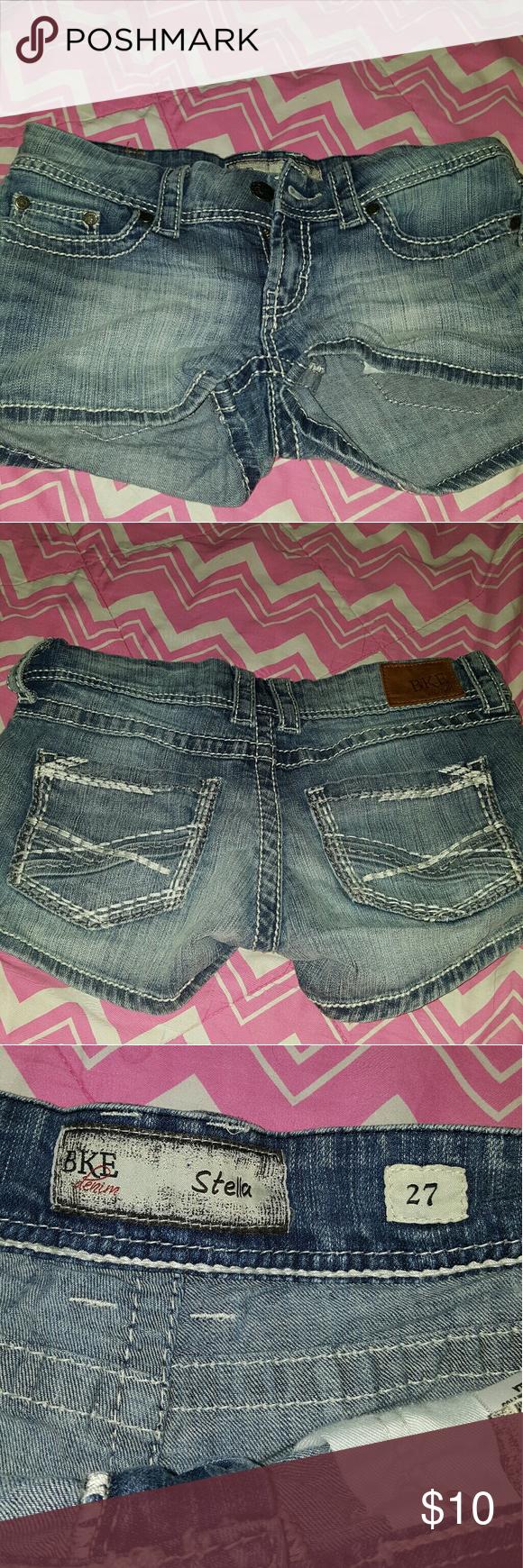 BKE shorts Size 27 Lightly used Great condition BKE Shorts Jean Shorts