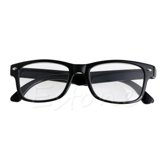 998b2f312862 Readers Square Large Lenses Spring-Hinges Unisex Presbyopic Reading Glasses  Classic Border Reading glasses Men Women 1.0~ 4.00 Review