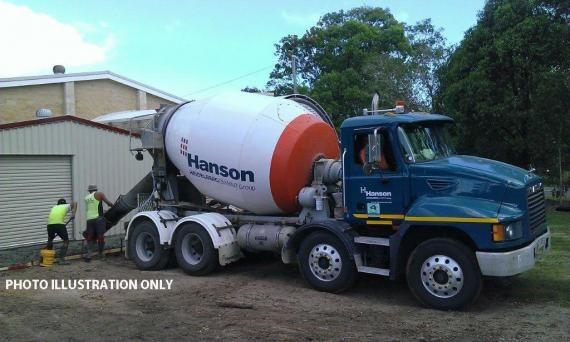 Hanson Mack Concrete Agitator Truck For Sale in QLD