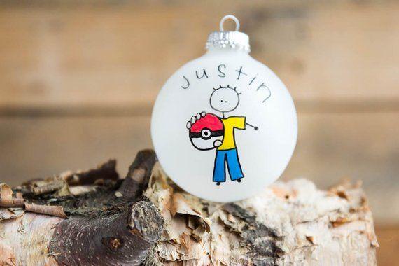 Pokemon Go Christmas Boxes.Pokemon Go Christmas Ornament Personalized For Free In