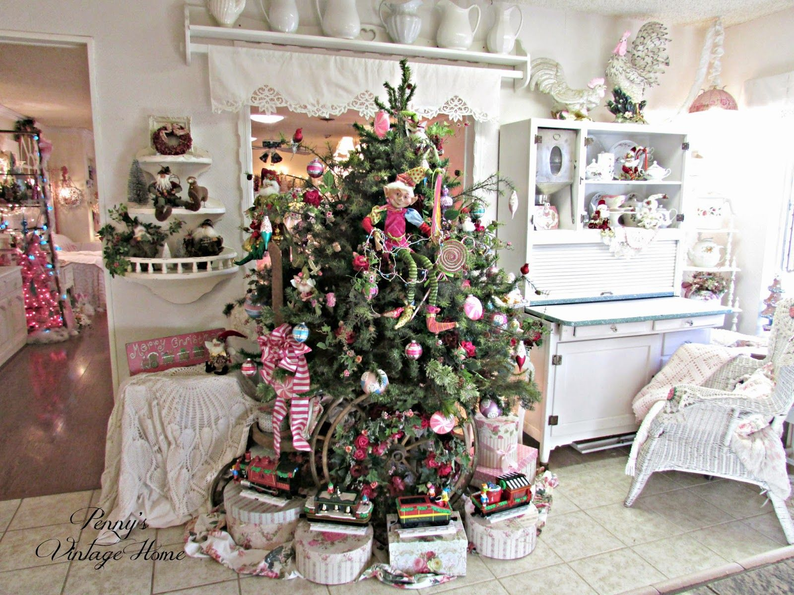 Shabby Chic Christmas Penny S Vintage Home Fairy Tale Tree