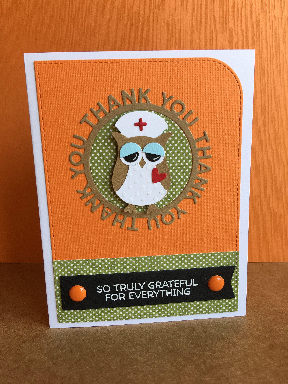 homemade thank you cards for nurses