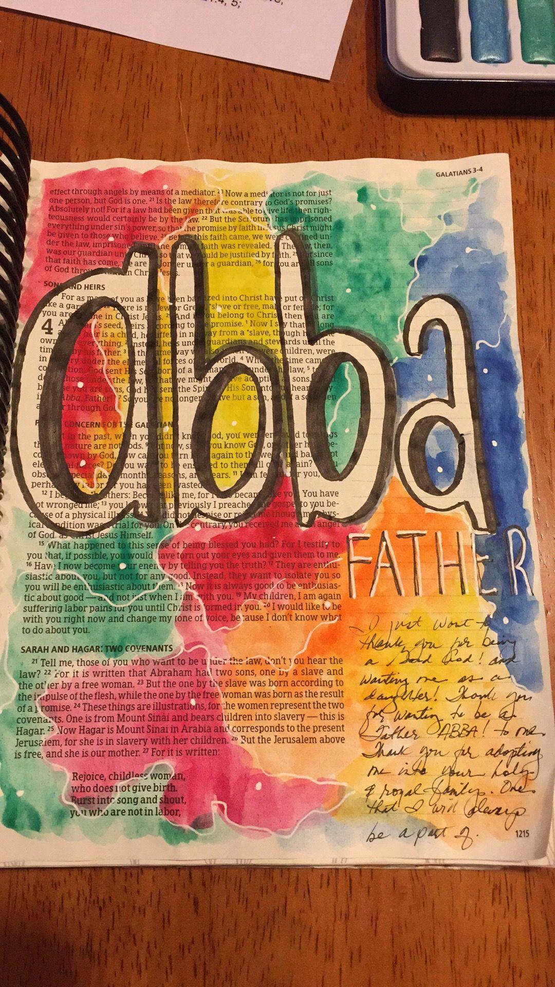 Pin by adrienne rowesaulsbury on bible art journaling