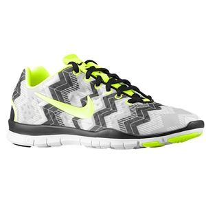 finest selection 65b90 1702d Nike Free TR Fit 3 Print- the perfect hint of green to make the show pop!
