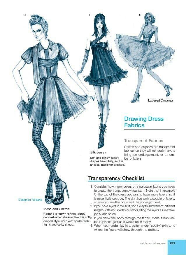 Fashion illustration for designers. How to make your own clothes. Pattern cutting technique https://payhip.com/patternmaking