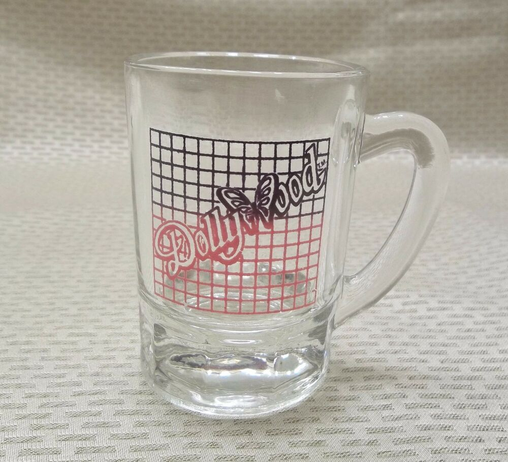 Dollywood Pitcher Shot Glass Pigeon Forge Tennessee Theme