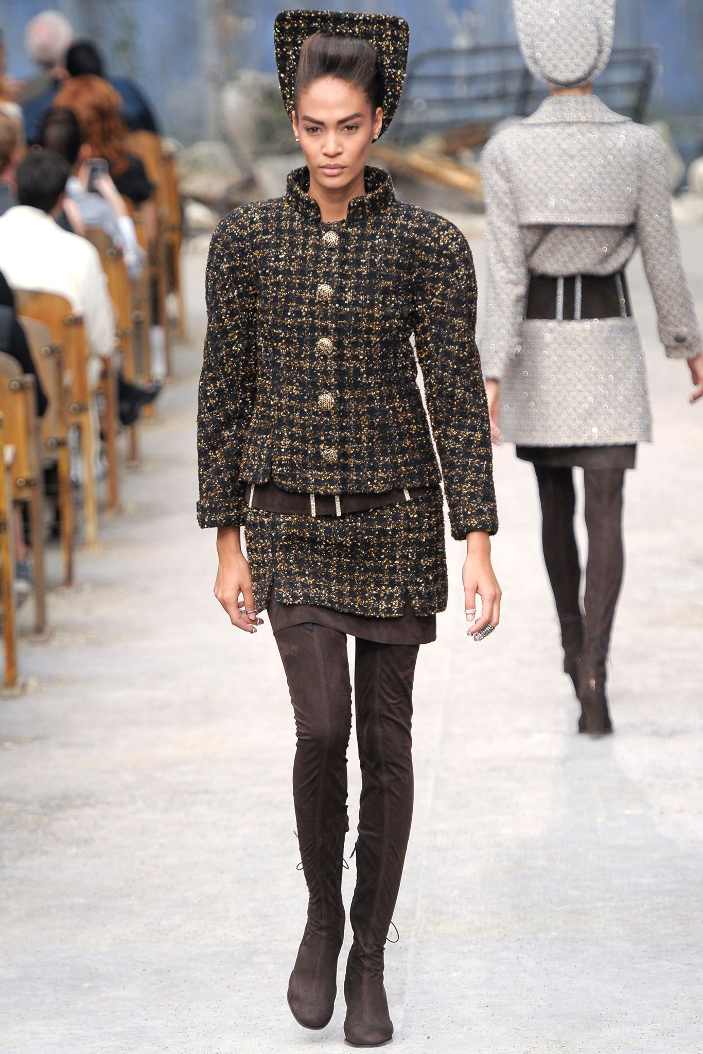 Chanel Fall 2013 Couture Fashion Show - Joan Smalls (IMG)