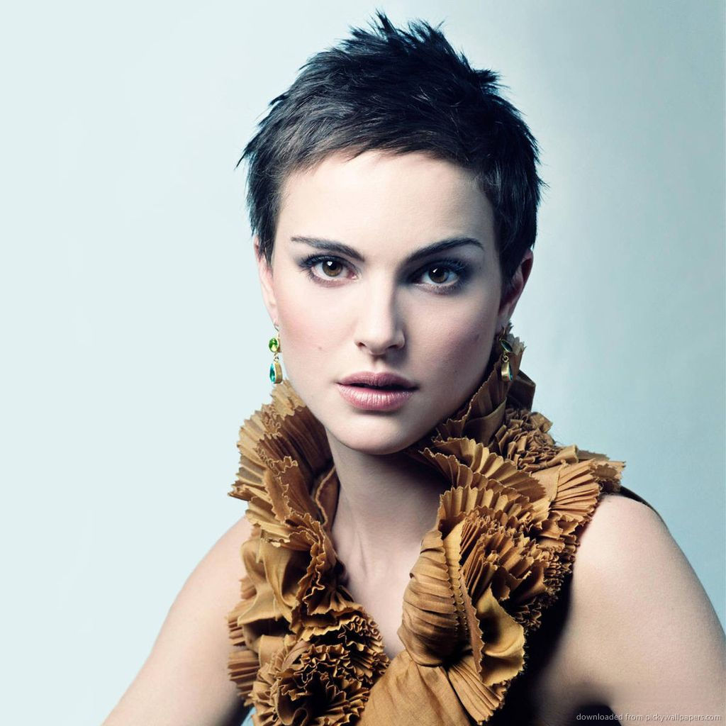 Natalie portman hairspiration pinterest short hair natalie