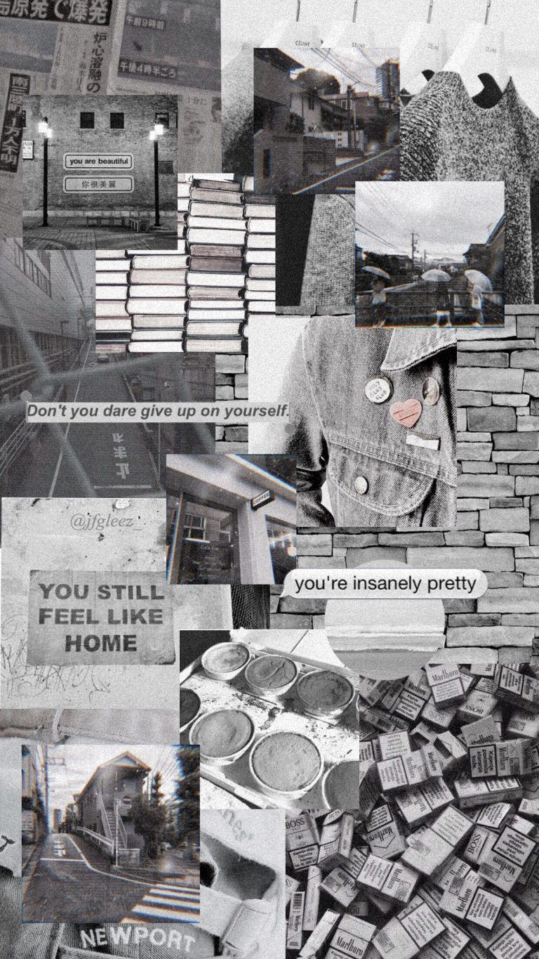 Aesthetic Aesthetic Wallpaper Aesthetic Vintage Aesthetic Quotes Aesthetic Grunge Aesthet In 2020 Grey Wallpaper Iphone Gray Aesthetic Aesthetic Pastel Wallpaper