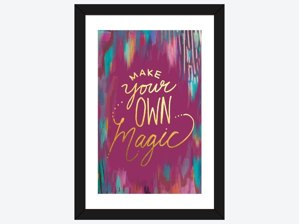 mystique make magic canvas wall art by ettavee icanvas on icanvas wall art id=48044