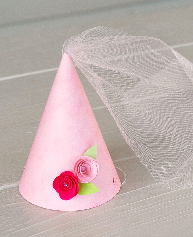 91460a4c83fc4 Creative Giant Paper Flower Party Hats DIY for kids Sombreros de cucurucho  para niños para fiestas infantiles para hacer uno mismo diverti…