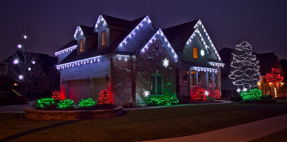 Where to hang christmas lights creative ideas