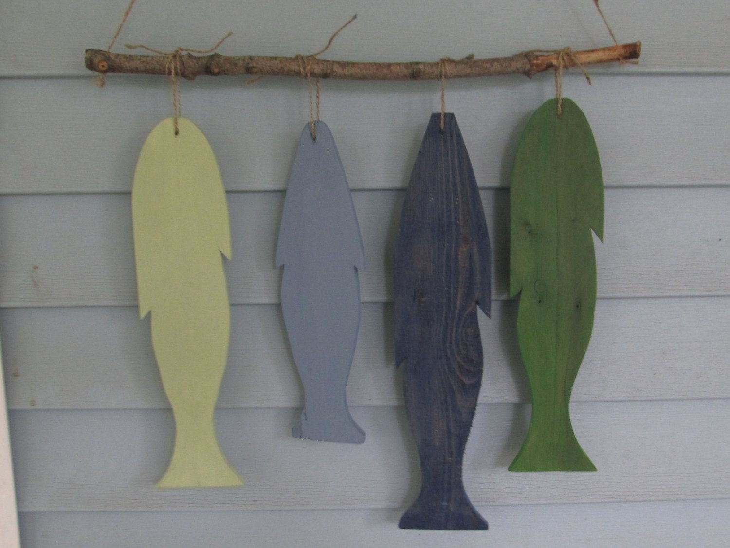 Fish Decor For Walls reclaimed wood fish wall hanging. custom made. rustic lake decor
