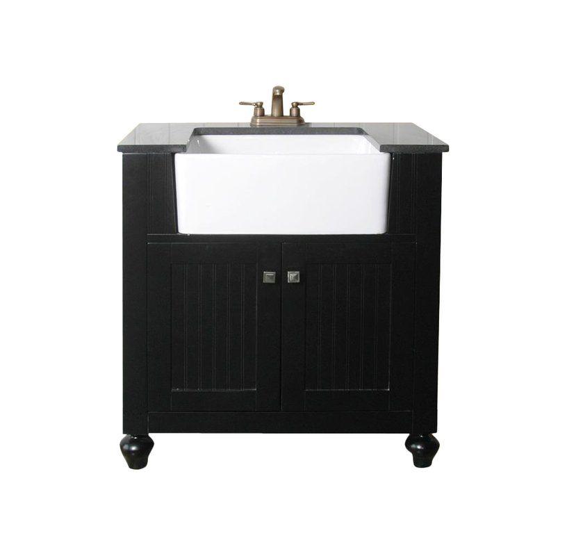 Chumley 31 Single Bathroom Vanity 30 Inch Bathroom Vanity Black Vanity Bathroom Bathroom Sink Vanity