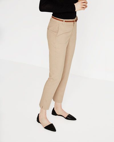 Pantalon Chino Ver Todo Pantalones Mujer Chino Trousers Trousers Women Trousers