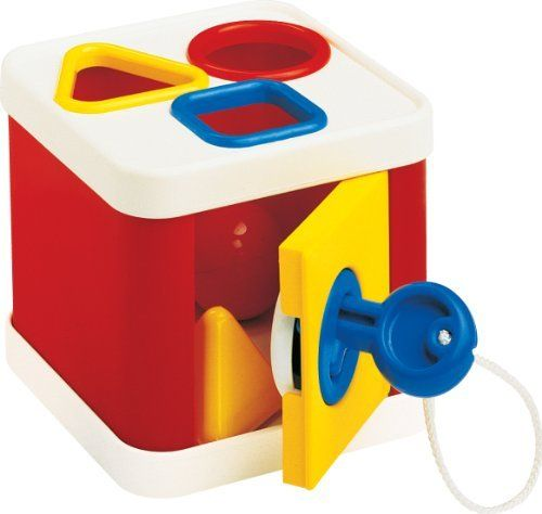 Schylling Ambi Lock A Block Amazon An Amazing Toy All Kids Like Keys The Shapes Are Rounded Which Makes Them Easier T Toddler Toys Block Toys Colorful Toys