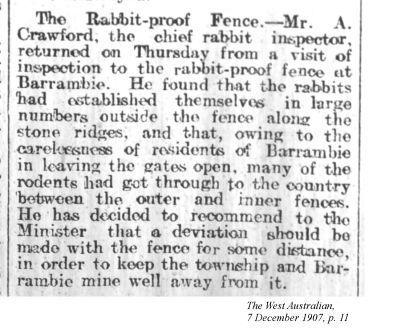 snippet from the western n follow the rabbit snippet from the western n 1907 acircmiddot the westernfencerabbit westerns