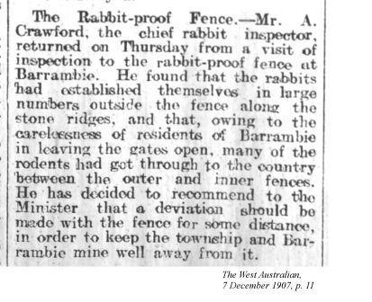 essay on rabbit proof fence