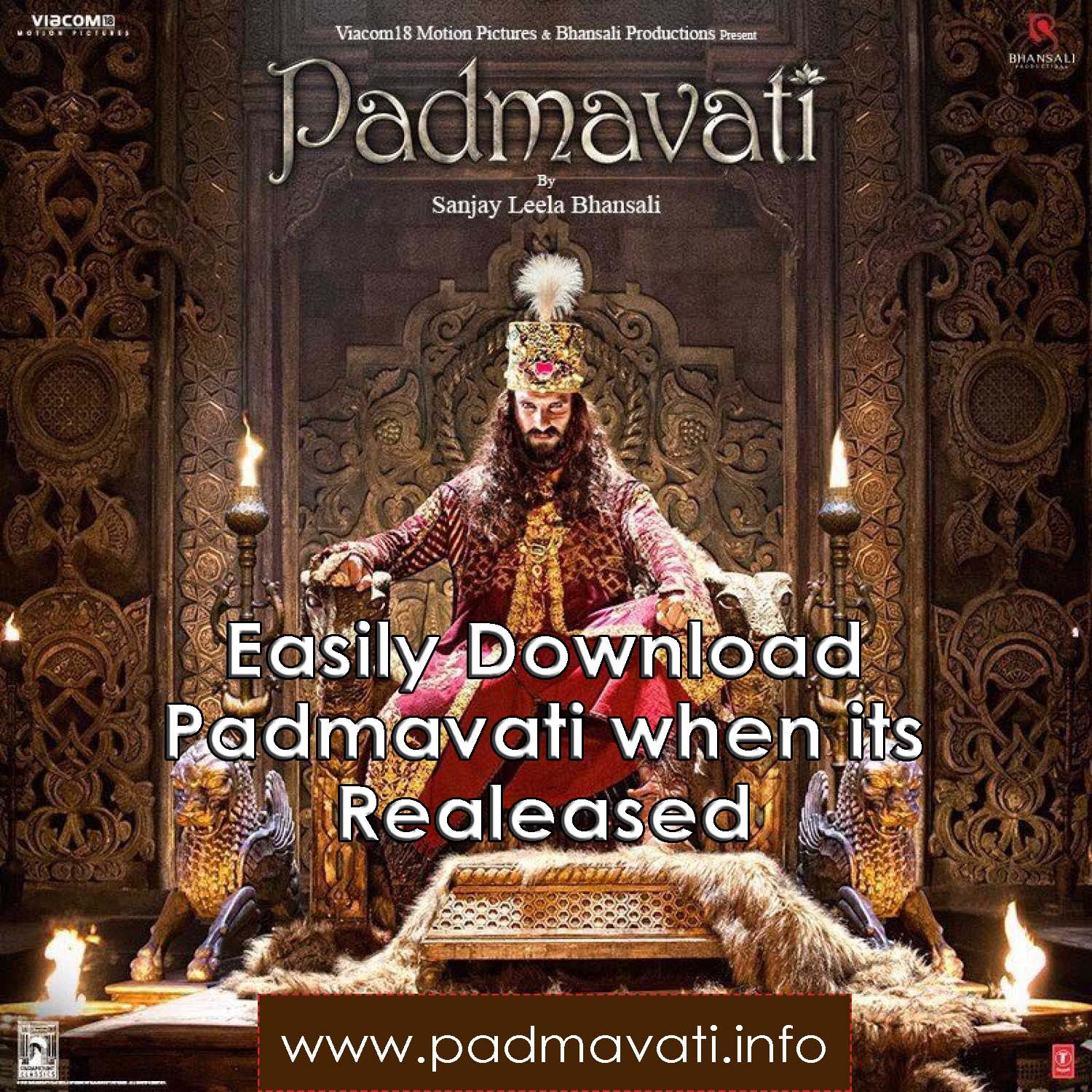 padmavat film free download