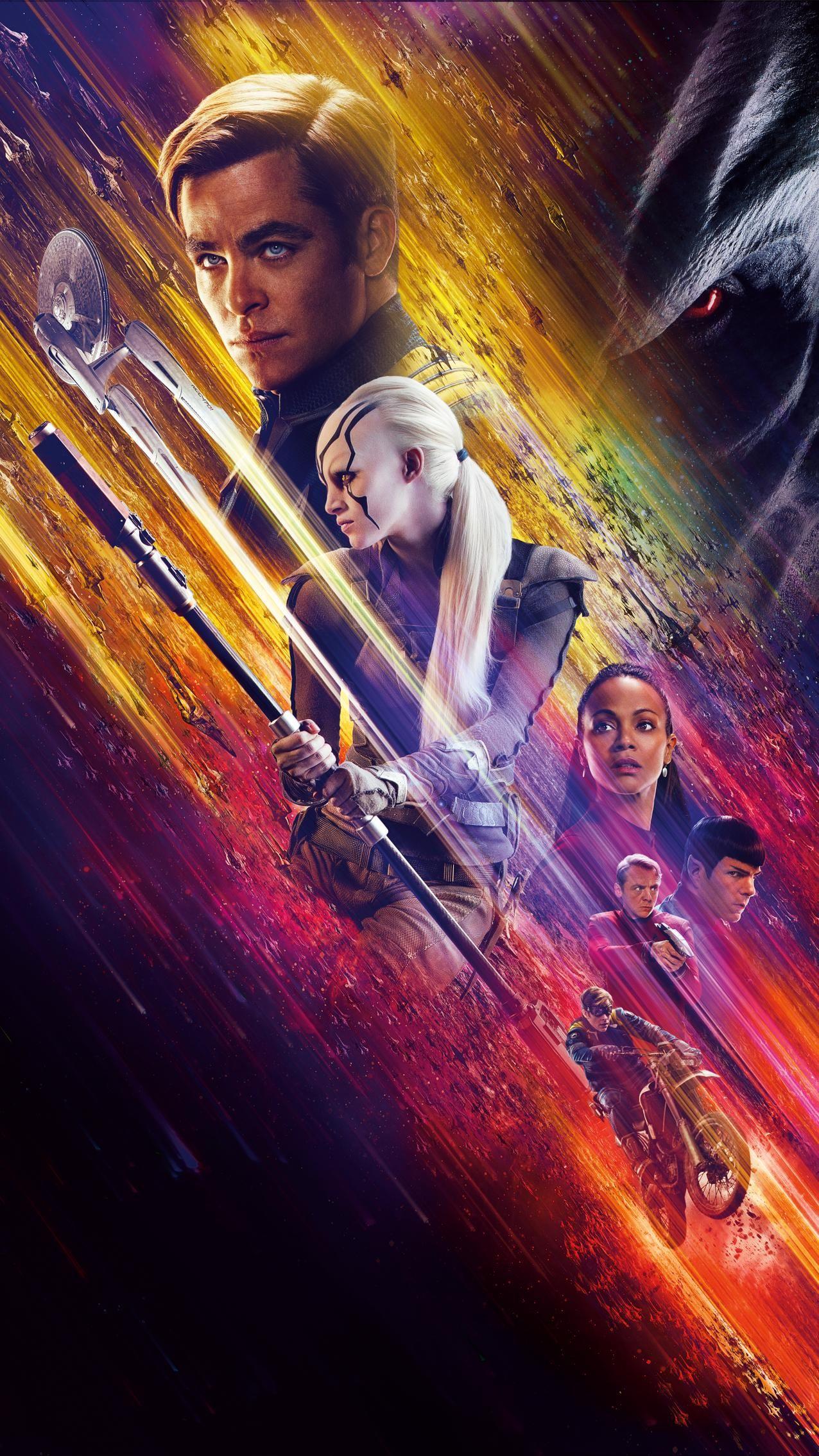Star Trek Beyond 2016 Phone Wallpaper Moviemania Star Trek Wallpaper Star Trek Beyond Movie Star Trek Beyond