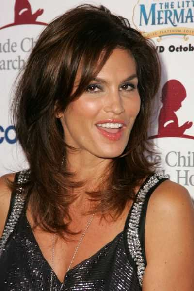cindy crawford hairstyle photo 2 beauty pinterest On coupe de cheveux cindy crawford mi long