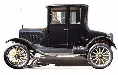 Classic Car 1920 Past Vintage Automobile Life Size Standup