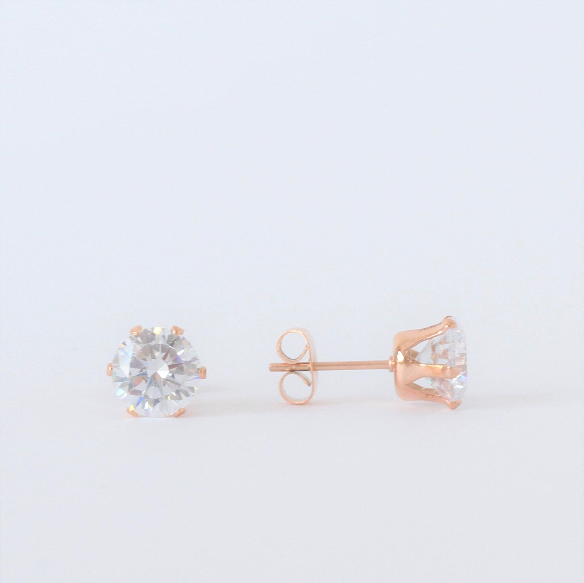 Diamante Stud Earrings