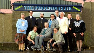 Not Much Better Than This I Know Who You Are Who Are Yer Phoenix Nights Comedy Tv British Tv Comedies