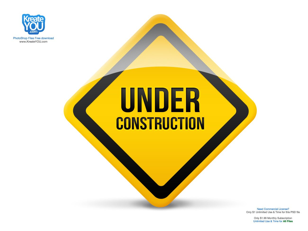 Under construction icon psd free psd download for for Construction info