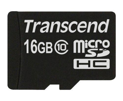Transcend Microsdhc10 Premium 16gb Class 10 Memory Card Transcend