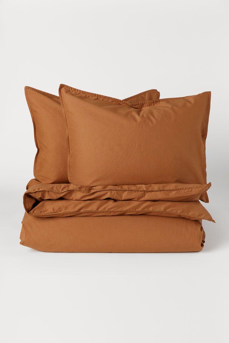 Washed Cotton Duvet Cover Set Duvet Cover Sets Cotton Duvet Duvet Covers