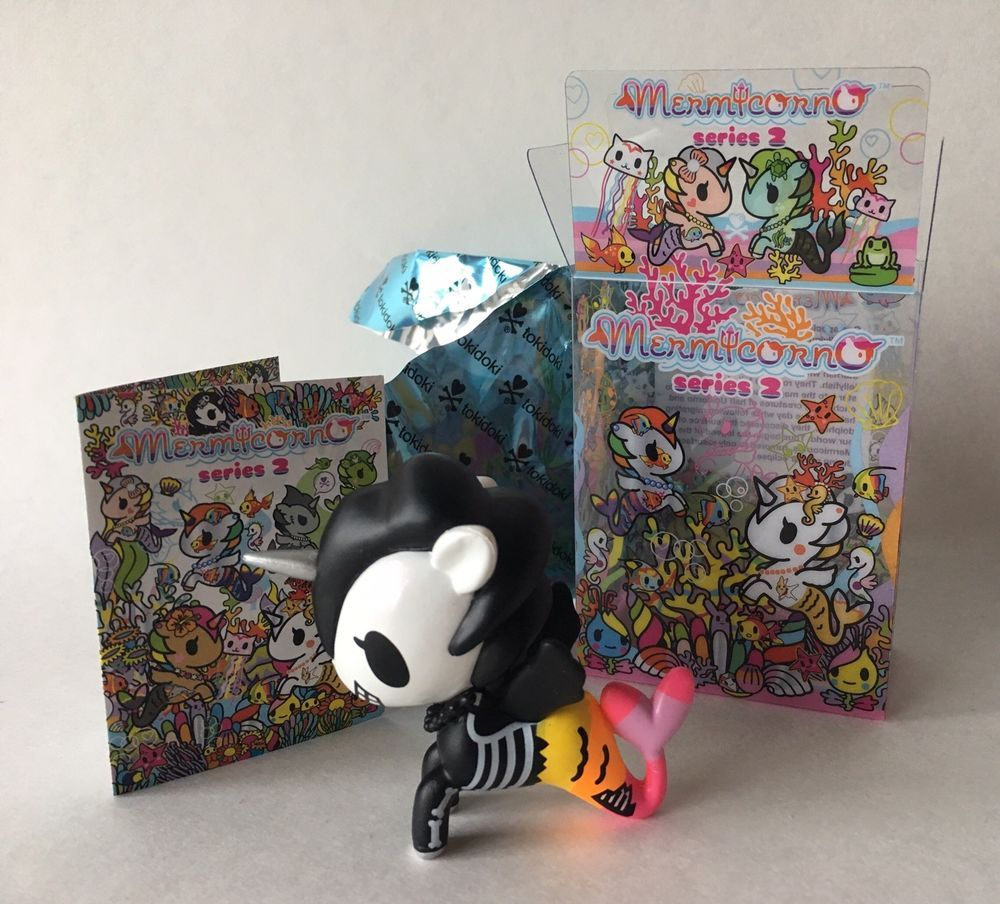 Tokidoki Mermicorno Series 2 Fantasma Unicorn Mermaid Neon Skeleton Blind Box Ebay Vinyl Figures Toys Vinyl Figures Tokidoki
