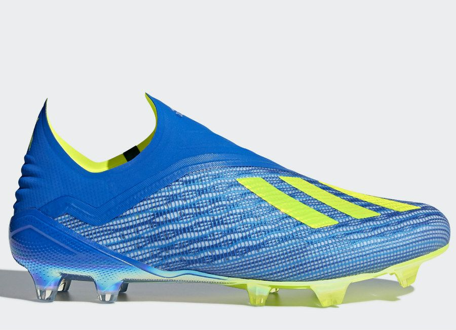 low priced daa03 3841a football soccer futbol adidasfootball Adidas X 18+ FG Energy Mode -  Football Blue  Solar Yellow  Core Black