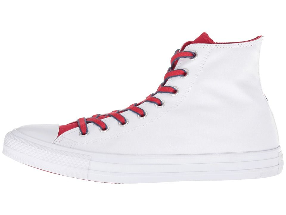 7fd48c5fa3ee Converse Chuck Taylor(r) All Star(r) Hi - Court Prep Block Classic Shoes  White Gym Red Navy